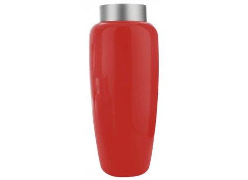 Serralunga Sevres haut Vase Rouge laqué