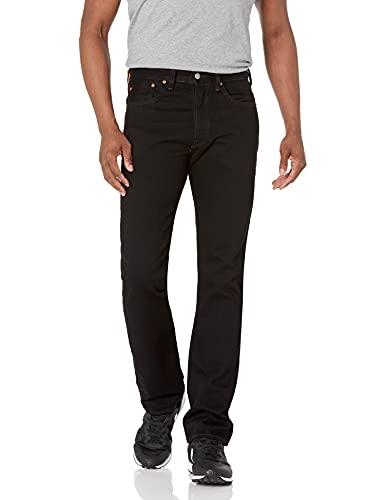Levi's 501 Original Fit Jeans Vaqueros, Black 0165, 32W / 32L para Hombre