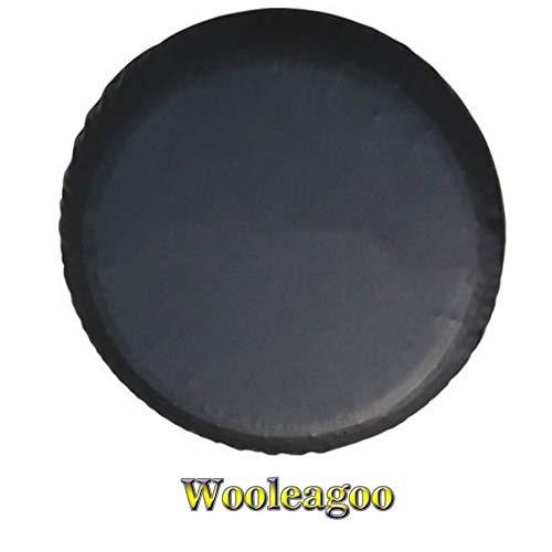 Wooleagoo Fundas de rueda de repuesto de vinilo suave funda protectora S UZUKI G rand V itara XL-7 bolsas de repuesto para neumáticos (15 pulgadas)