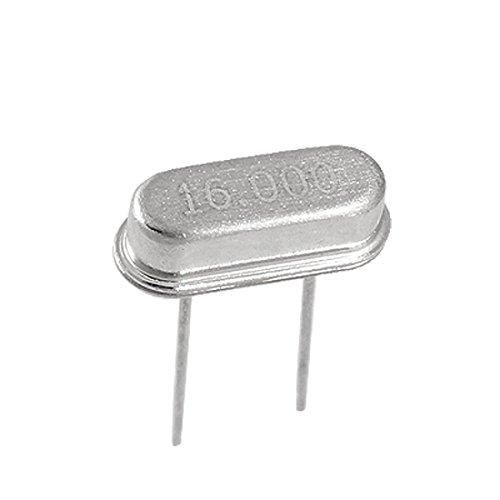 uxcell 50 Pcs 16.000MHz AT49S 20PF DIP Quartz Crystal Oscillator