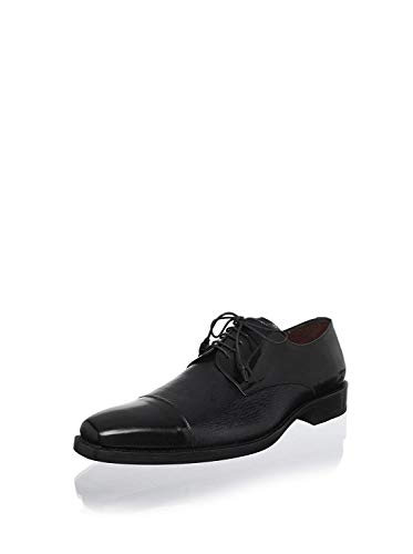 Mezlan Men's Soka Cap Toe Oxford (Black, 9)