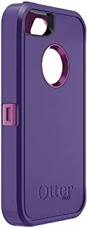 OtterBox Defender Series Case for iPhone 5 (Discontinued by Manufacturer)( Not for iPhone 5C or 5S) Retail Packaging Boom Purple