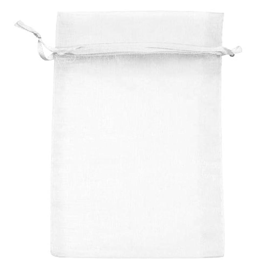 Beadaholique BX1294 WH Drawstring Gift Bags, 4 by 6-Inch, White Organza bibovpmfjgp23