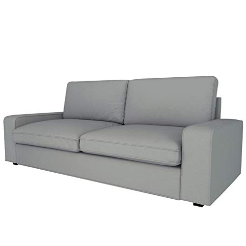 CRIUSJA Couch Covers for IKEA Kivik 3 Seat Sofa, Couch Covers for 2 Cushion Small Couch, Sofa Slipcovers for Living Room, Couch Cover with Cushion Covers (AF-8, 3 Seat)