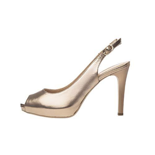 NeroGiardini P805410DE Zapatos De Salón Mujer De Piel - Sandalia 36 EU
