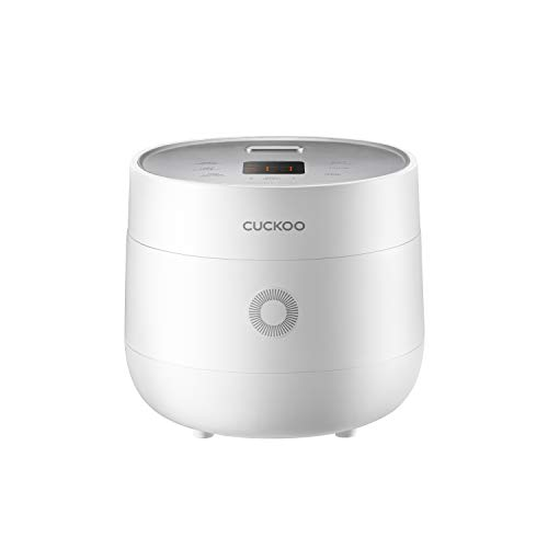 Cuckoo CR-0675F 6 Cup Micom Rice Cooker and Warmer, 13 Menu Options, Nonstick Inner Pot, White