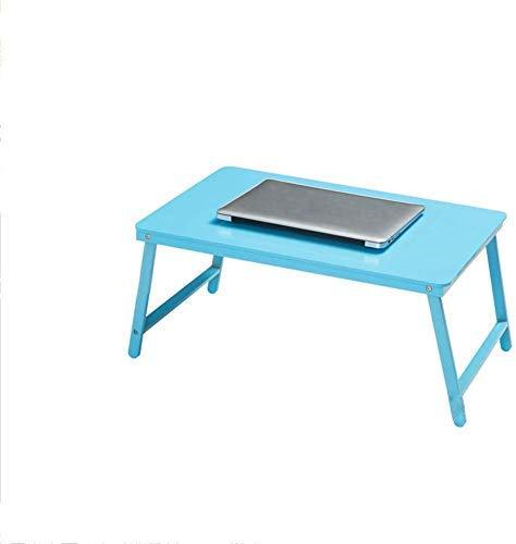 KQYAN Tabla Plegable portátil de la Cama del Escritorio y for más Personas Lazy Desk Simple Estudio Mesa Multicolor de 60x39x27cm (Color, C), C (Color: E) Facil de Instalar (Color : E)