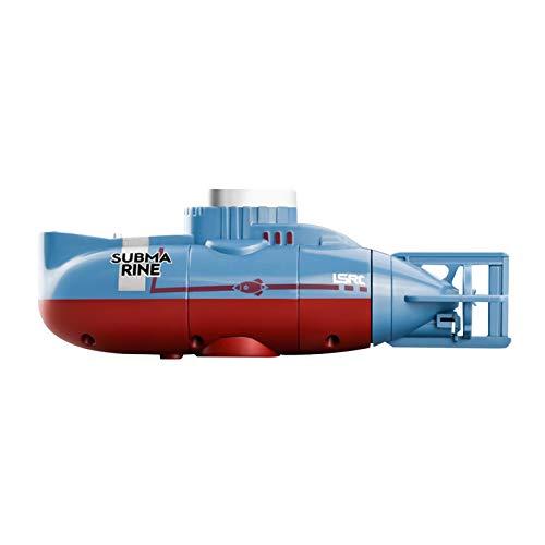 BIUDUI Fernbedienung Boot U-Boot Spielzeug Rc Boot Ferngesteuertes Boot Für Kinder Tauchen Aquarium Spielzeug Simulation Atom-U-Boot15x6,8x4,5 cm
