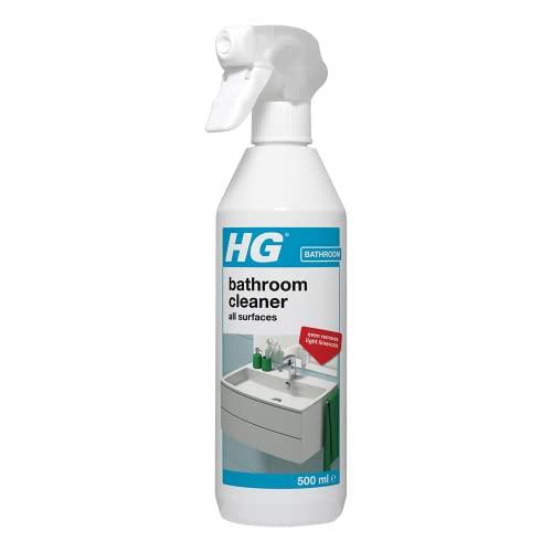 HG 147050106 Shower & Washbasin Spray Safe and Quick Shower Cleaner for...