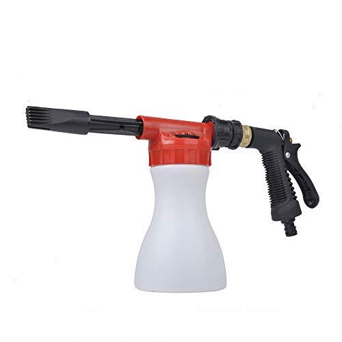 Miarui Lage druk Foam Gun Car Wash Foam Gun Sprayer met Dikke Suds De Ultimate Car Wash Foamer die aansluit op elke tuinslang
