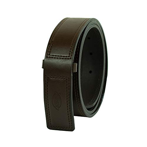 Dickies Men's No-Scratch Mechanic Belt, Brown, Large (38-40)