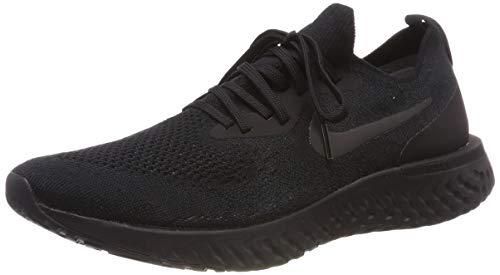 Nike Men's Epic React Flyknit Running Shoe Black/Black/Black 10.5 M US