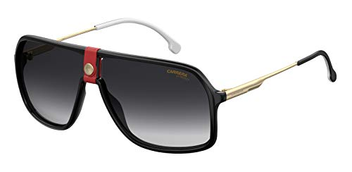 Carrera 1019/S, Occhiali da sole Uomo, Gold Red 64