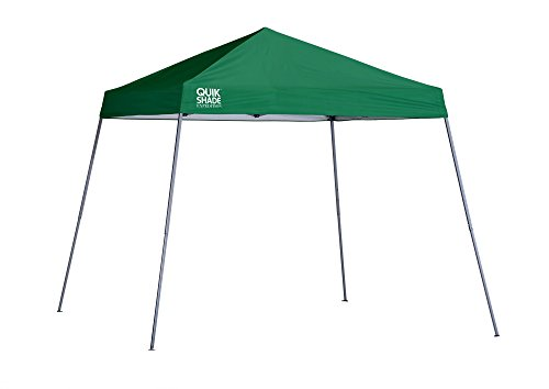 Quik Shade Expedition 10 x 10 ft. Slant Leg Canopy, Green