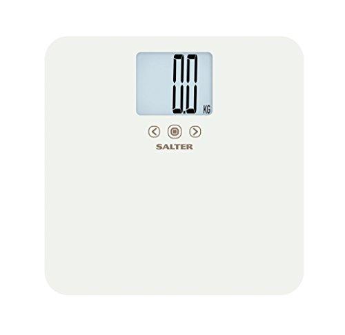 Salter Max - Báscula de baño analizadora, 250 kg, color blanco