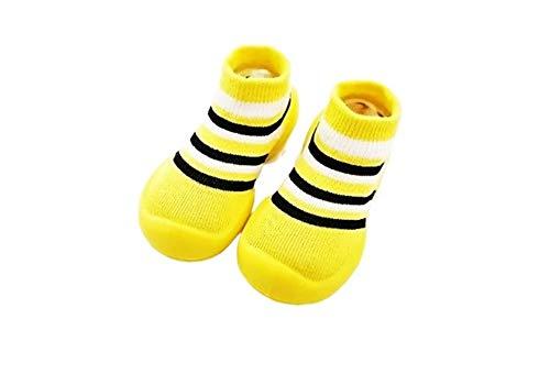 Generic Kinder Hausschuhe Innen Hausschuhe für Baby. Lauflernschuhe rutschfeste Sohle atmungsaktive Kinder Hausschuhe Krabbelschuhe Hausschuhe Socken Babyschuhe.