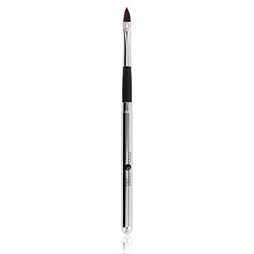 Hochwertiger Profi Lippen Pinsel mit Deckel, perfekt zum exakten Auftragen von Lippenstift oder Lipgloss auf den Lippen