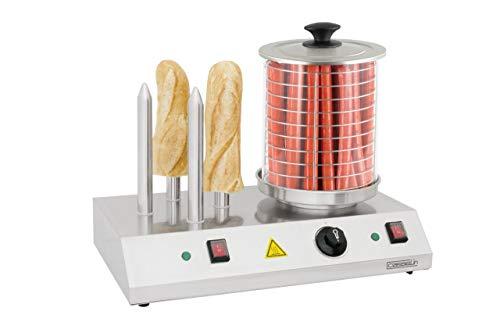 Casselin CMH1B Elektrischer Hot-Dog-Gerät, 4-polig