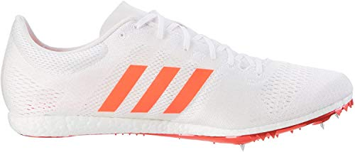 adidas Unisex-Erwachsene Adizero Avanti Laufschuhe, Weiß (Footwear White/solar Red/silver Metallic), 47 1/3 EU