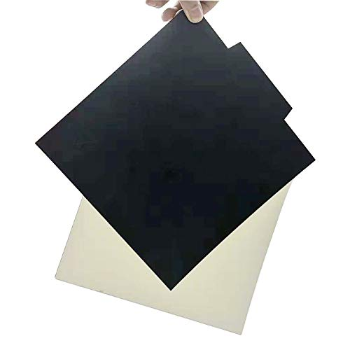 Placa de metal extraíble de 220 x 220 mm + adhesivo magnético para placa de construcción con adhesivo para Wanhao i3, Anet A8 A6 Prusa i3 impresora 3D impresión ABS TPU Nylon PC filamento