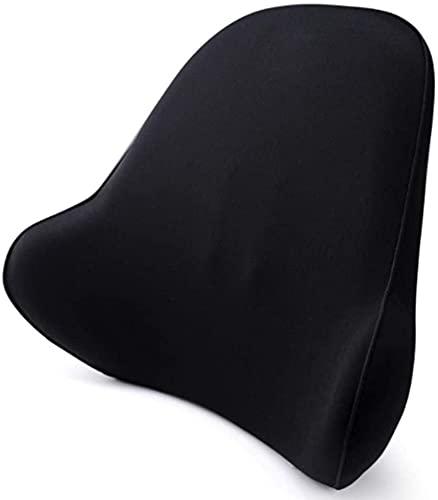 HTDHS Auto Lumbalstützkissen, Lendenkissen Rückenstütze Kissen Memory Foam Pillow Rückenlehne Atmungsaktives Mesh Cover Back Support Kissen Sitz Rollstuhl Ergonomie Lendenbarer Kissen