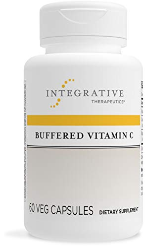 Integrative Therapeutics - Buffered Vitamin C 1,000mg - Antioxidant Support Supplement - Easy on Sensitive Stomach - 60 Veg Capsules