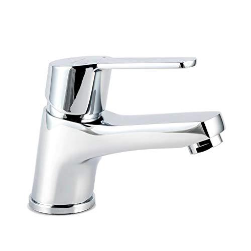 Clever 60749 Grifo de lavabo 60mm monomando fijación repisa cromado calidad, 60 mm