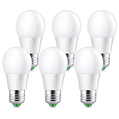 Elrigs A15 LED Bulb 5W (40 Watt Equivalent) E26 Base Non-Dimmable 450lm Pack of 6
