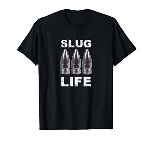 Pellet Gun .50 .30 Cal Air Rifle Slug Life by Pellet Hunter T-Shirt
