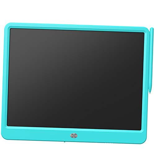 TISHITA Tableta de Escritura LCD de 15'eWriter para Juguetes para Niños de 3 a 12 años Escuela en Casa - Azul