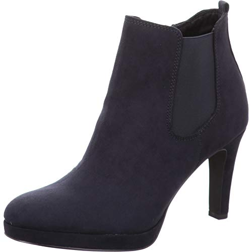Tamaris Damen Stiefeletten Blau, Schuhgröße:EUR 41