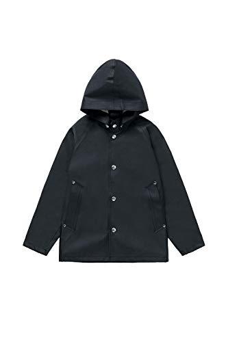 RAINS STUTTERHEIM Boy's Stockholm Mini Raincoat, Black, 3-5 Years