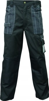 Triuso Bundhose schwarz- Gr.50 Arbeitshose Arbeitsshorts Arbeitskleidung Berufsbekleidung