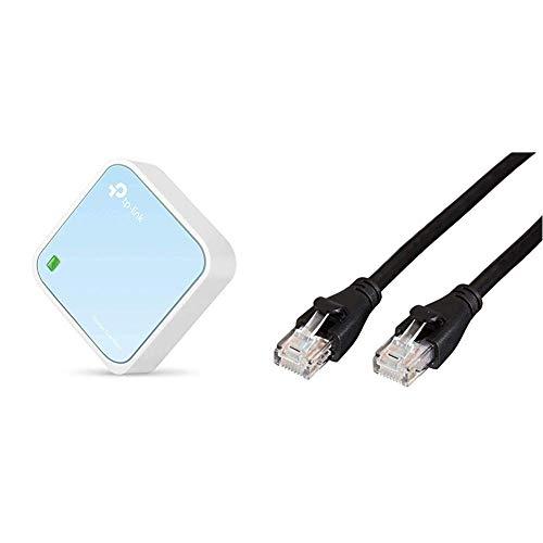 TP-Link Nano Routeur 300 Mbps Wi-FI N, Support Mode Répéteur/Point d'accès/Routeur/Pont/Client,...