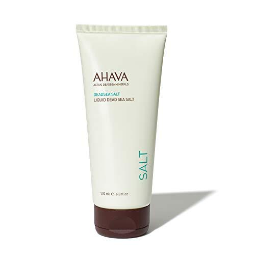 AHAVA Liquid Dead Sea Salt Sale liquido del Mar Morto, 200 ml