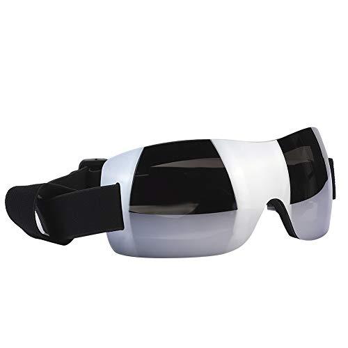 【スクールシーズン 特別プロモーション】 犬のサングラス、調節可能なペットのメガネ、フレームレスのプロのプラスチック製の犬のメガネ(Silver)