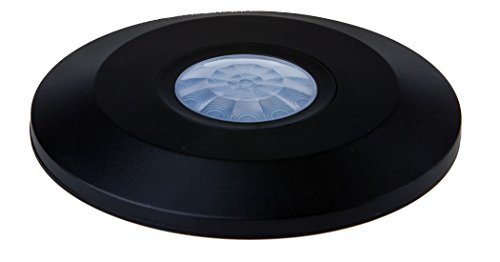 Bewegingsmelder PIR infrarood SLIM IP20 plafondlamp 360 ° - Black VT-5087