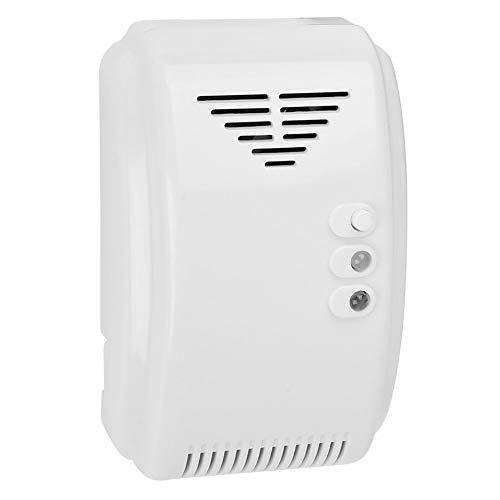 ◆ Alarma De Fuga De Gas NO Detección Automática Inteligente Detector De óxido Nítrico Zumbador 20ppm Enchufe Europeo 220V