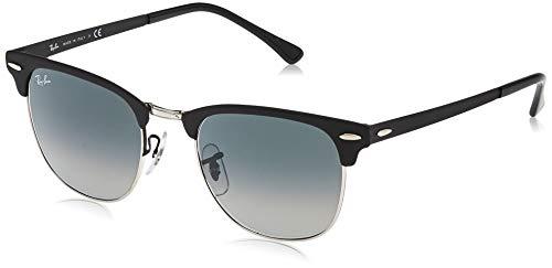 Ray-Ban Unisex-Erwachsene 0RB3716 911871 51 Brillengestelle, Silber (Silver On Top Matte Black)
