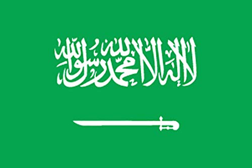 国旗 サウジアラビア L版 No.23058(取寄商品) [並行輸入品]