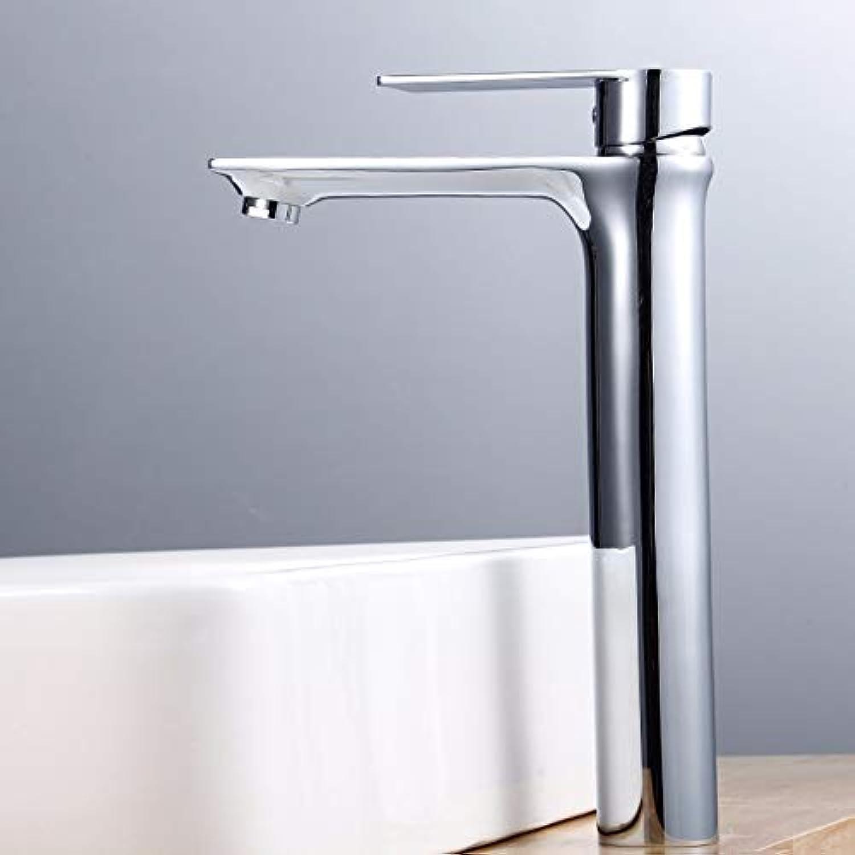 Wasserhahn des Gesichtsbeckens ein einziges Loch alle Kupferbadezimmer Toilette Wasserhahn des Handbeckens Wasserhahn des Waschbecken B