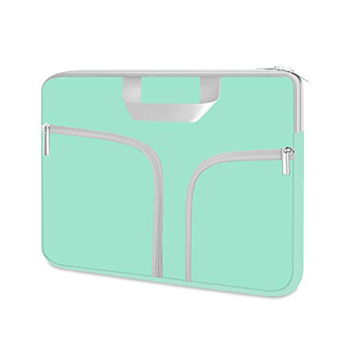 """HESTECH 16""""-17.3 inch Laptop Sleeve Bag Case Cover with Pocket,Compatible with Acer Predator Helios 300 Gaming 15.6/Dell Inspiron/MSI/HP Pavilion/Alienware 17/HP Omen,Green"""