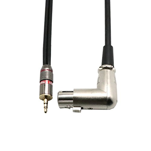 Hellery Cable de Extensión de Micrófono Mono de 3,5 Mm TRS a XLR 3 Pines Macho a