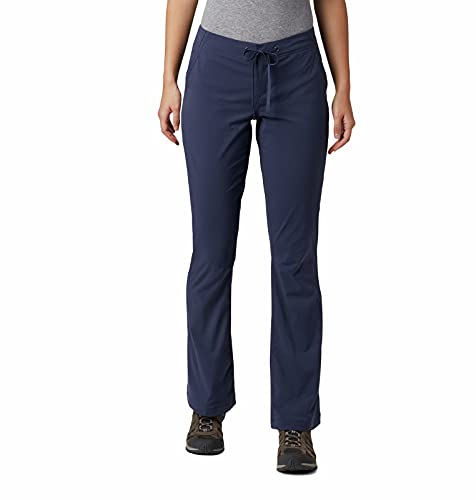 Columbia Women's Anytime Outdoor Boot Cut Casual Pant, Nocturnal, 8 Regular