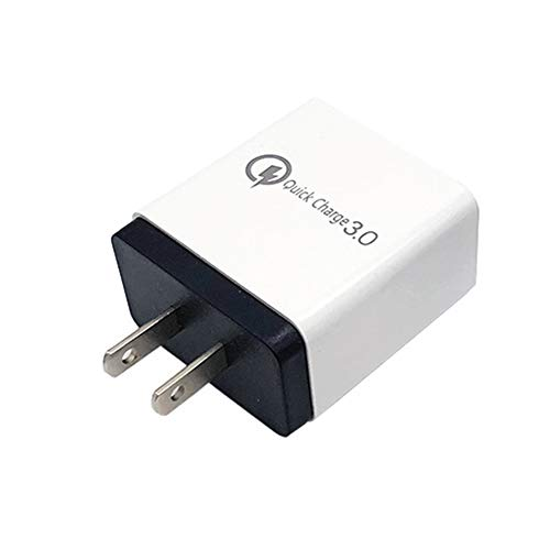 Adattatore Da Viaggio, 4 Porte USB, Portatile Da Viaggio 4 Porte USB QC 3.0 Caricatore Da Muro A Ricarica Rapida Adattatore Di Alimentazione Adattatore Universale Per Telefoni Cellulari Nero Spina UE