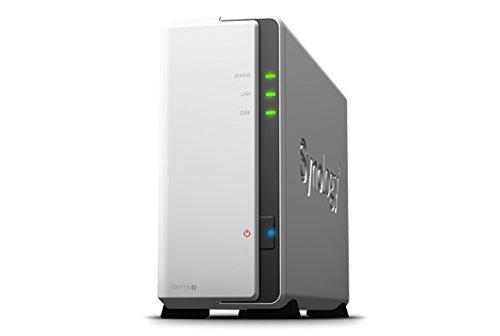 Synology DiskStation DS115j Collegamento ethernet LAN Torre Bianco NAS