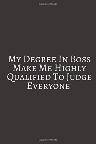 My Degree In Boss: Pink Black Floral Watercolor Journal, Large 8.5 x 11 Softcover Journal, Diary & Notebook For the Everyday Girl Boss With 110 ... Girl Boss With 110 College Ruled Pages