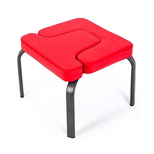 Verbeterde versie omgekeerde stoel, multifunctionele draagbare opvouwbare, yoga-kruk-hulpmachine, voor Family Gym Yoga Pilates verlicht vermoeidheid