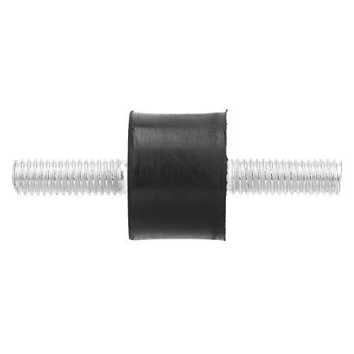 Semiter Silentblock Que Reduce el Ruido Fácil de Instalar Larga Vida útil Soporte de Goma Buen Amortiguador para compresores de Aire Motores(VV20*15 M6*18)