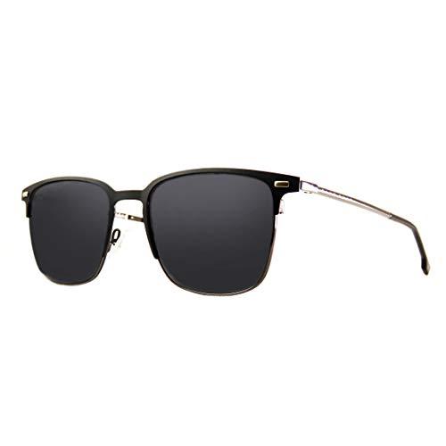 Hugo Boss Herren BOSS 1025/F/S Sonnenbrille, Matte Black, 57